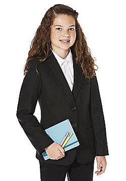 F&F School Girls Blazer - Black