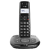 Doro Comfort 1015 Cordless Phone with Answering Machine - Black
