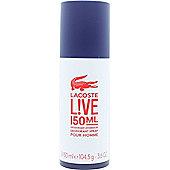 Lacoste Live Deodorant 150ml Spray