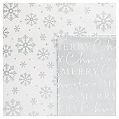 Snow Song Christmas Flat Wrap Pack, 10 sheets