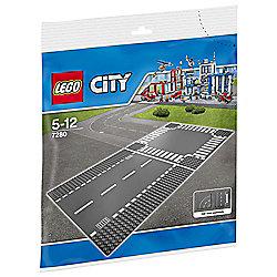 LEGO Straight & Crossroad 7280