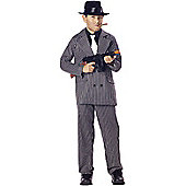 Child Gangster Boy Costume Medium