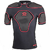 Optimum Rugby Origin Protective Rugby Top IRB Approved - Black & Red