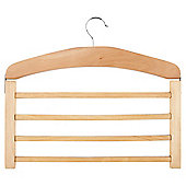 Tesco Wooden 4 tier hanger