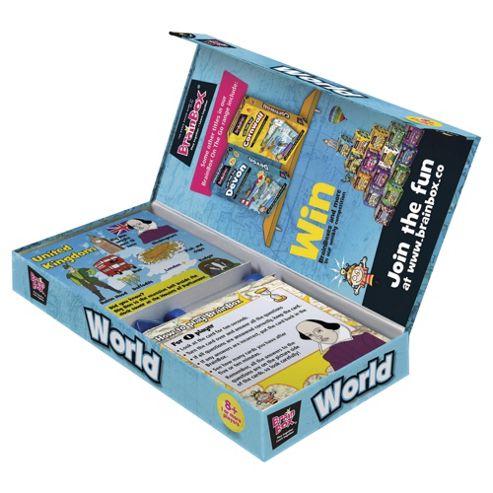 BrainBox World Brain Challenge Travel Game
