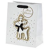 Glitter Reindeer Med Bag