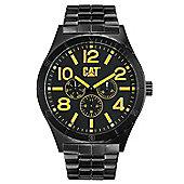 CAT Camden 48MM Mens Black Steel Watch - NI.169.12.137