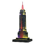 Empire State Building 3D Puzzle With Lights - 216 Pieces