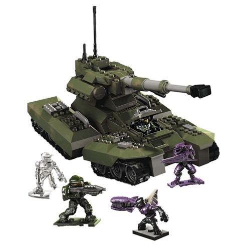 Mega Bloks Halo Universe Heavy Armored Vehicle UNSC Scorpion