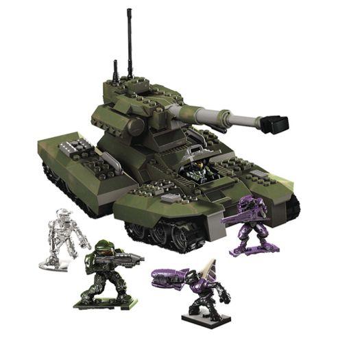 Mega Bloks Halo Universe Heavy Armored Vehicle UNSC Scorpion