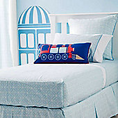 Geometry Double Fitted Sheet and Pillowcases by Hiccups
