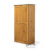 Verona Verona 2 Door Wardrobe - Antique
