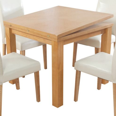 Elements Bari Oak Flip-Top Dining Table