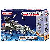 Meccano Multimodels 10 Model Set - Flight: Jet 6024809