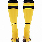 2013-14 Athletico Madrid Away Nike Football Socks - Yellow