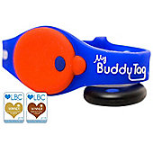 My Buddy Tag Blue with Free App Bluetooth Toddler / Child Proximity & Water Safety Alarm Wristband