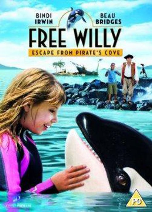 Free Willy - Escape From Pirate'S Cove (DVD)