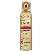 L'Oréal Sublime Self-Tan Body Mist Fair 150ml