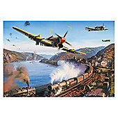 Gibsons Typhoons Over The Rhine 500-Piece Jigsaw Puzzle