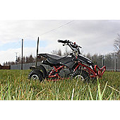 50cc Street Assassin Mini Off-Road Petrol Quad Bike Black
