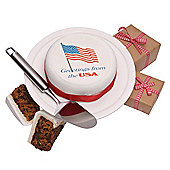 us greetings cake (OU70)