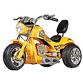 12V Chopper Motorbike Yellow