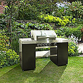 BillyOh Island 4 Burner Stainless Steel Hooded Gas BBQ