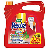 Resolva Path & patio weedkiller 4 litre rtu