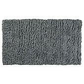 Tesco Soft Shaggy Rug Grey 70x130cm