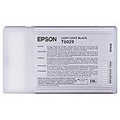 Epson T6029 Light Light Black Ink Cartridge for Stylus Pro 7800/9800