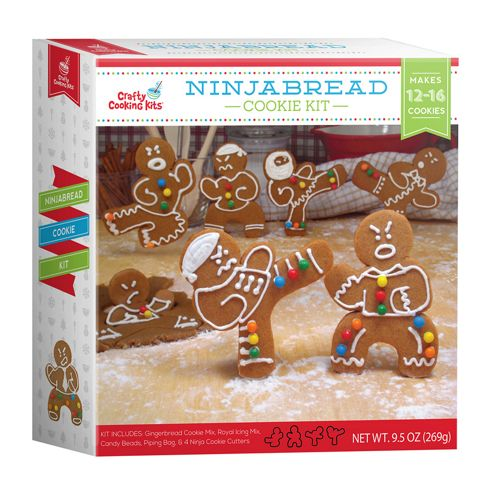 Buy Funky Hampers Ninjabread Cookie Kit From Our Novelty