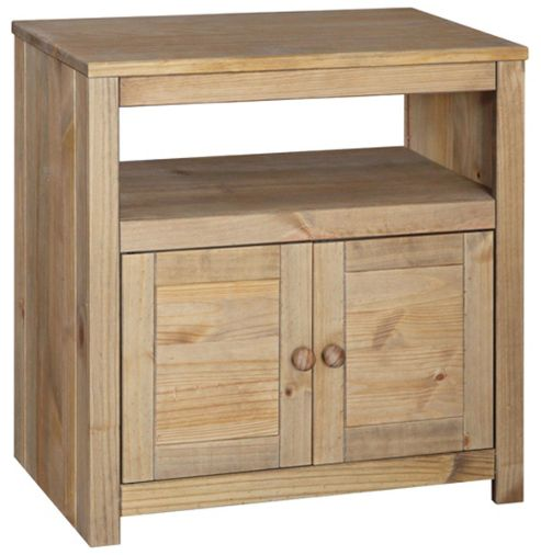Hacienda Waxed Pine TV Cabinet for up to 32 inch