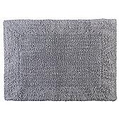 Tesco Hygro 100% Cotton Bath Mat - Silver