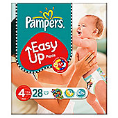 Pampers Easy Ups Size 4 Essential Pack - 28 nappies