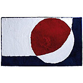 Sanwood Point Red Rug - 60 cm x 60 cm (1 ft 9 in x 1 ft 9 in)