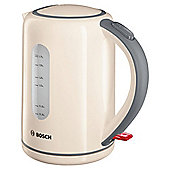 Bosch TWK7607GB Village Kettle, 1.7L - Cream