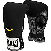 Everlast Neoprene Heavy Boxing Bag Gloves - Black