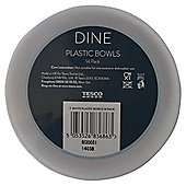 Tesco White Plastic Bowls 14 Pack