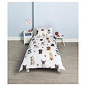 Cat/Dog Duvet Set Single