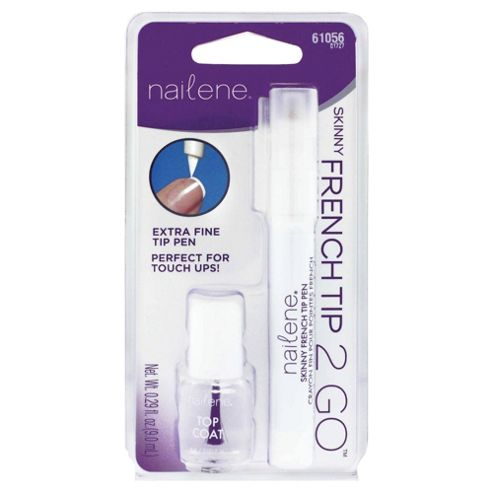 Nailene French Manicure Pen Skinny White 61056