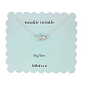 Little Ella Children's Twinkle Double Star Necklace