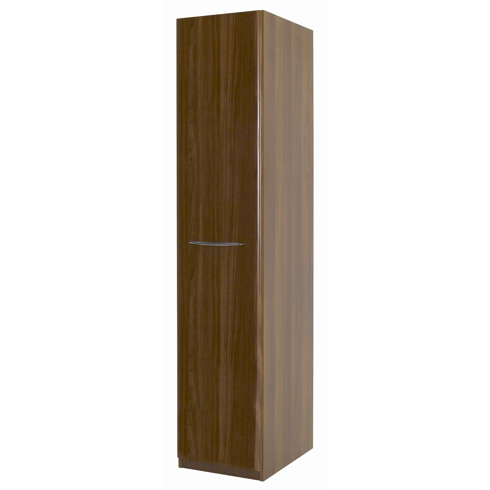 Alto Furniture Visualise Murano Single Wardrobe in High Gloss Walnut at Tesco Direct