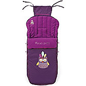 Jane Luxury Nest Plus Footmuff (Lilac)