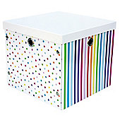 Happy Storage Box White