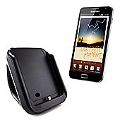 KitSound Charging Dock with Audio Output for Samsung Galaxy Note - Black