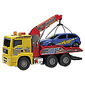 Air Pump Action Tow Truck