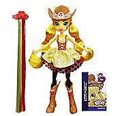 My Little Pony Equestria Girls Rainbow Rocks Rockin' Hairstyle Dolls - Apple Jack