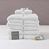 Jeff Banks 6 Piece Towel Set - White