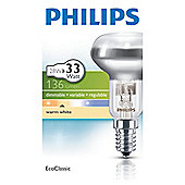 Philips EcoClassic Halogen NR50 28 W E14 Small Edison Screw Warm White Light Bulb