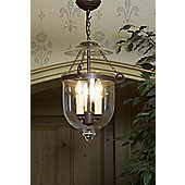 Kansa Lighting Georgian Medium Clear Hanging Lantern